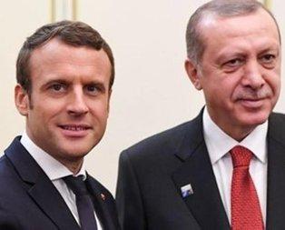 Cumhurbaşkanı Erdoğan, Macron ile telefonda görüştü