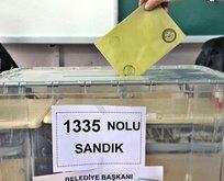 O ilde geçersiz oyların sayımı tamamlandı