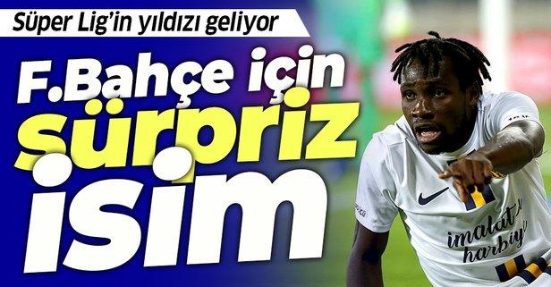 Fenerbahçe'ye transferde sürpriz isim
