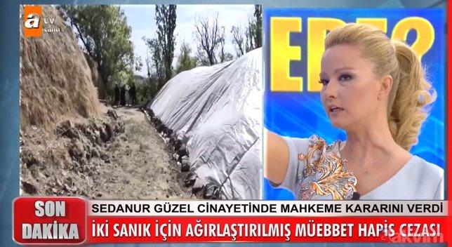 Müge Anlı'da son dakika Sedanur Güzel cinayeti gelişmesi! Minik Sedanur cinsel istismara uğradıktan sonra...