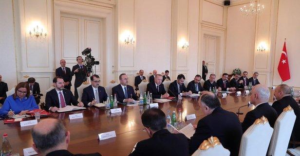 Bakan Albayrak'tan 'Azerbaycan' paylaşımı