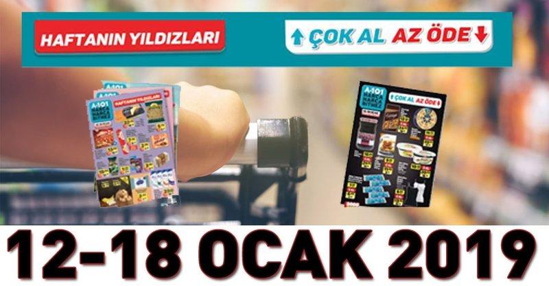 A101 12-18 Ocak 2019! İki kampanyalı katalog yayınlandı! İşte aktüel ürünler kataloğu