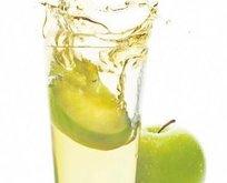 Güzellık iksiri elma suyu!