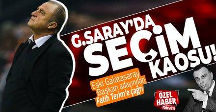G.Saray'da seçim kaosu! Eski Başkan adayı Terim'e çağrı yaptı