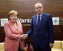 Merkelden Erdoğana taziye telefonu