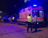 Ankara'da feci kaza! Minibüs ile duvar arasında sıkıştı