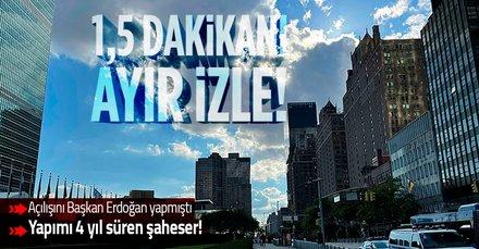 Açılışını Başkan Erdoğan yapmıştı! Türkevi'nin 4 yıllık yapım süreci 1,5 dakikalık videoda