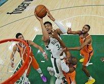 Milwaukee Bucks eşitledi