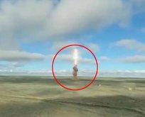 Rusya yeni füzesini test etti!