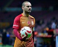 Eski Galatasaraylı Wesley Sneijder gözaltına alındı! Olay görüntüler...