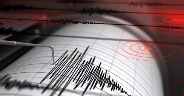 Yalova Çınarcık'ta deprem!