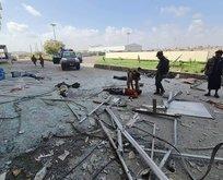 Yemen'de havalimanında patlama! 13 ölü
