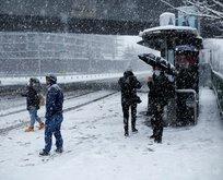 İstanbul kar yağışı saat kaçta başlayacak?