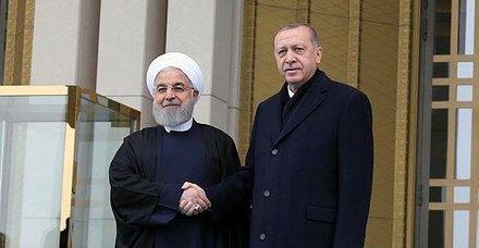 İran Cumhurbaşkanı Hasan Ruhani'den Başkan Recep Tayyip Erdoğan'a seçim tebriği