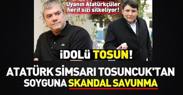 Atatürk simsarı Özdil'den soyguna skandal savunma