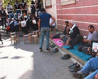 Evlat nöbeti tutan aileleri tehdit etmişti! HDP'li isim yakalandı