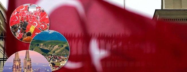 Hangi ülkede kaç Türk'ün yaşadığını biliyor musunuz? İşte Türklerin yaşadığı ülkeler...