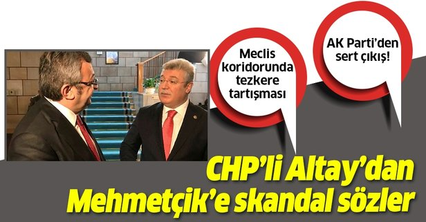 CHP'li Engin Altay'dan Mehmetçik'e skandal sözler!