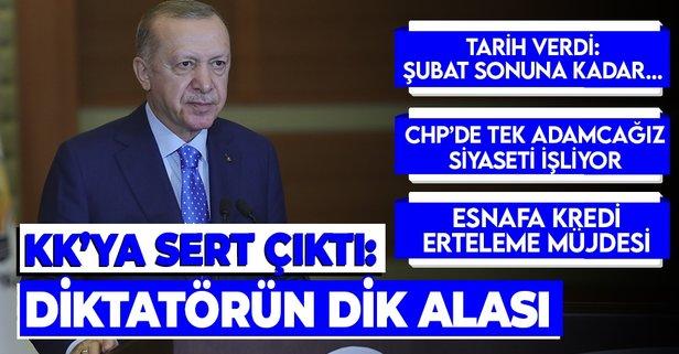 AK Parti'de kritik kongre! Başkan Erdoğan...