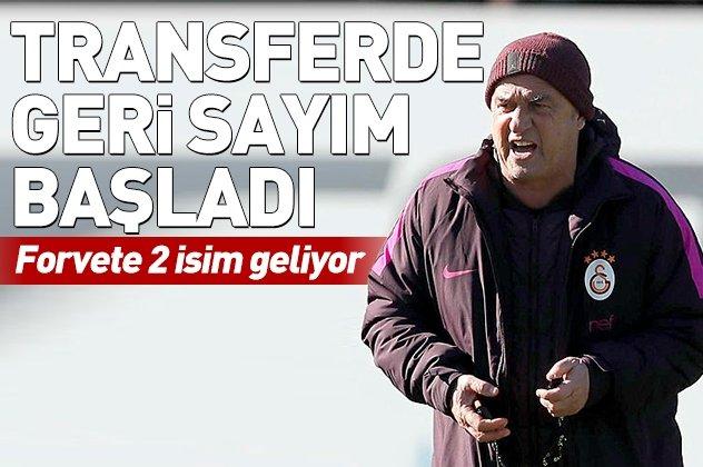 Galatasaray'da forvete çifte takviye