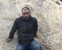 Teslim olan teröristin fotoğrafında şoke eden detay