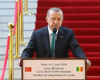 Erdoğandan Batı dünyasına Goree Adası eleştirisi