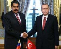 Venezuela'dan Başkan Erdoğan'a teşekkür