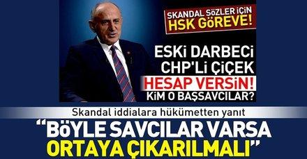 Son dakika: Dursun Çiçekin skandal iddialarına AK Partiden yanıt