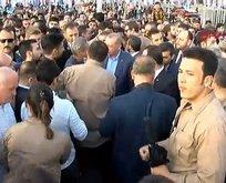 Başkan Erdoğan Taksim'de vatandaşla kucaklaştı