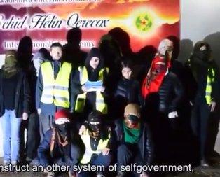 Terör örgütü PKK/YPG'lilerden Sarı Yeleklilere destek çağrısı