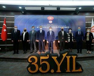 Başkan Erdoğan'dan SavunmaSanayiiBaşkanlığının 35'inci kuruluş yıl dönümü için kutlama mesajı