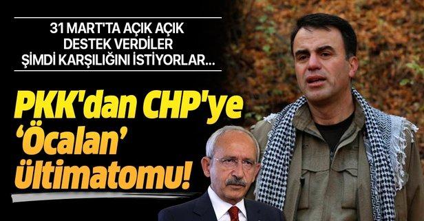 PKK'dan CHP'ye Öcalan ültimatomu!