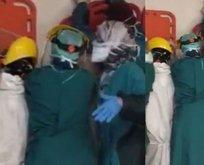 Sağlık çalışanlarına saldırı!