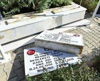 Şehitlerin kabirleri dahil 79 mezara saldırı!