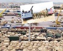 Yunanistan ile ABD'den kirli plan...