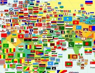 Müslüman ülkelerin bayrakları hakkında şaşırtan detay! Bazılarında hilal...