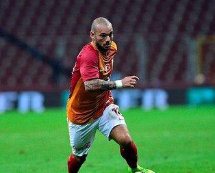 Sneijder'in menajerinden Galatasaray açıklaması!