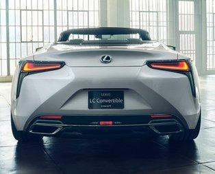 Lexus üstü açılabilir 2019 LC Convertible Concept'i tanıttı