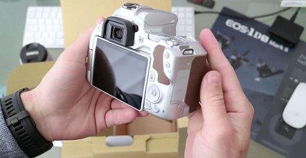 Fotoğraf tutkunu babalara Canon EOS 250D