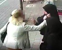Adana'da tesettürlü kadına alçak saldırı