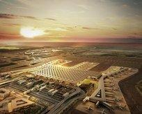 Yeni Havalimanı Cumhurbaşkanı Erdoğanı bekliyor