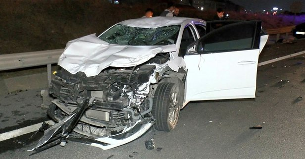 Kuzey Marmara Otoyolu'nda trafik kazası: 6 yaralı