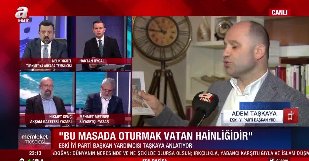 İYİ Parti eski Başkan Yardımcısı Adem Taşkaya suç duyurusunda bulundu: Buğra Kavuncu Meral Akşener'in prensiydi - Takvim