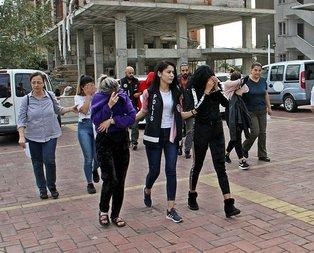 Antalya'da fuhuş operasyonu! Tek tek gözaltına alındılar