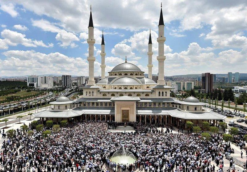 İşte detaylarıyla Beştepe Millet Camii