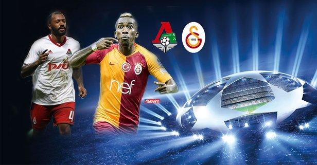 Şampiyonlar Liginde dev heyecan... Lokomotiv Moskova Galatasaray maçı hangi kanalda saat kaçta şifresiz mi 92