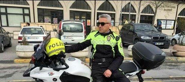 Motosikletli trafik polisi Ali Ulaş şehit oldu