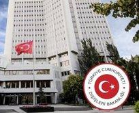 Türkiye'den o saldırıya kınama