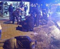 Taraftar otobüsü kaza yaptı: 2 ölü