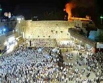 İsrail, Mescid-i Aksa'da yangın çıkardı!
